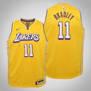 Women Lakers #11 Avery Bradley City Jersey